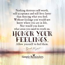 Honor feelings